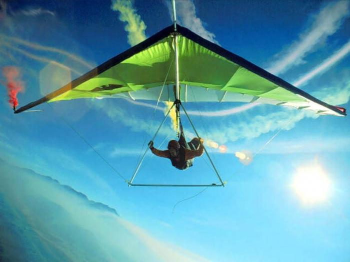 how to make a hang glider with your own hands