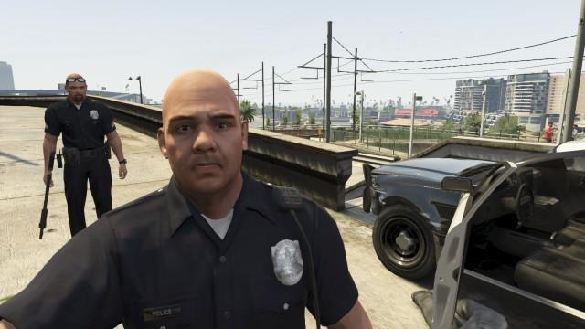 how to become a policeman in GTA san andreas