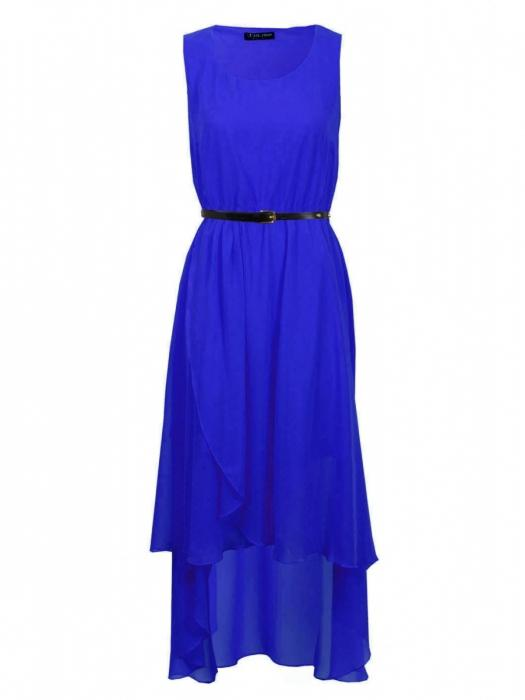 Dress in blue color