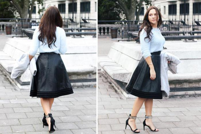 with what to wear a lush black skirt