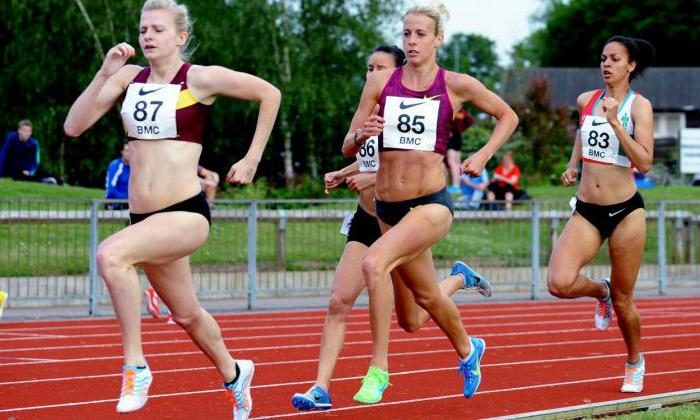 Rules for conducting athletics competitions